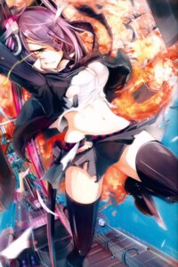 Rating: Safe Score: 47 Tags: eyepatch kantai_collection tagme tenryuu_(kancolle) thighhighs torn_clothes User: kiyoe