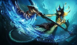 Rating: Questionable Score: 2 Tags: armor league_of_legends mermaid monster_girl no_bra tagme tail weapon User: Radioactive