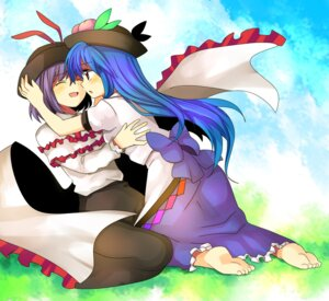 Rating: Safe Score: 6 Tags: hinanawi_tenshi mei nagae_iku touhou User: petopeto