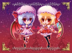 Rating: Safe Score: 2 Tags: flandre_scarlet nonoko remilia_scarlet touhou wings User: konstargirl