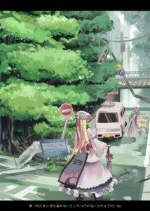 Rating: Safe Score: 4 Tags: chen garnet_(artist) touhou yakumo_ran yakumo_yukari User: manroth