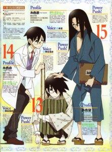 Rating: Safe Score: 3 Tags: feet itoshiki_kei itoshiki_mikoto itoshiki_nozomu kimono male megane morioka_hideyuki sayonara_zetsubou_sensei User: admin2