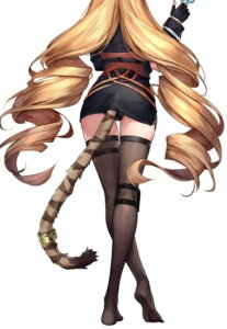 Rating: Questionable Score: 37 Tags: am1m arknights garter pantsu swire_(arknights) tail thighhighs User: Dreista