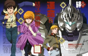 Rating: Safe Score: 2 Tags: audrey_burne banagher_links gundam gundam_unicorn kobayashi_osamu mecha nakada_eiji riddhe_marcenas unicorn_gundam uniform User: Aurelia
