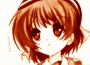 Rating: Safe Score: 6 Tags: clannad godees monochrome okazaki_ushio User: charunetra