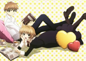 Rating: Safe Score: 7 Tags: kinomoto_sakura li_syaoran tsubasa_reservoir_chronicle User: Radioactive