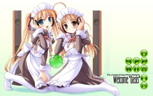 Rating: Safe Score: 9 Tags: happiness headphones ko~cha maid wallpaper User: admin2