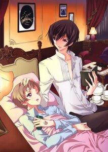 Rating: Safe Score: 11 Tags: code_geass lelouch_lamperouge male panta rollo_lamperouge User: Aurelia
