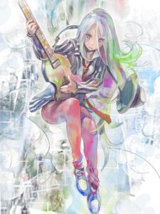 Rating: Safe Score: 11 Tags: guitar risa_hibiki User: Radioactive