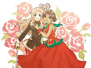 Rating: Questionable Score: 8 Tags: himemiya_anthy revolutionary_girl_utena tenjou_utena yoki User: Varga