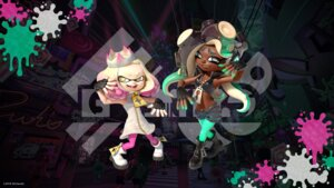 Rating: Questionable Score: 3 Tags: dress marina_(splatoon) nintendo pantyhose pearl_(splatoon) splatoon wallpaper User: fly24