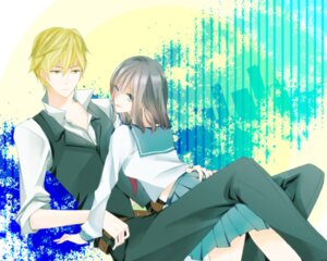 Rating: Safe Score: 5 Tags: awakusu_akane durarara!! heiwajima_shizuo seifuku snsk User: Radioactive