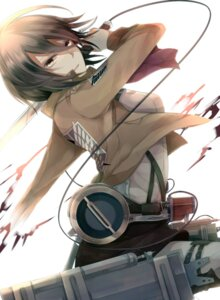 Rating: Safe Score: 25 Tags: haru_(haru2079) mikasa_ackerman shingeki_no_kyojin sword uniform User: 23yAyuMe