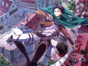 Rating: Questionable Score: 17 Tags: angel31424 blood levi male shingeki_no_kyojin uniform User: charunetra