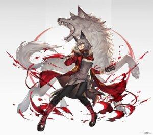 Rating: Safe Score: 14 Tags: animal_ears arknights jun_wei pantyhose projekt_red_(arknights) tail weapon User: Dreista