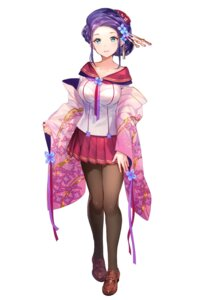 Rating: Safe Score: 71 Tags: fuzichoko japanese_clothes onsen_musume pantyhose seifuku yudanakashibu_honami User: saemonnokami