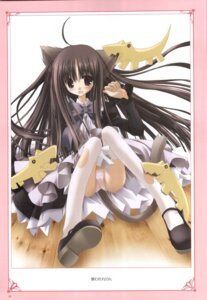 Rating: Safe Score: 11 Tags: animal_ears nekomimi pantsu renon tinkle torn_clothes User: noirblack