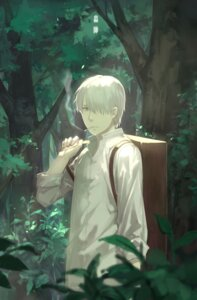 Rating: Safe Score: 15 Tags: cotta ginko male mushishi smoking User: KazukiNanako