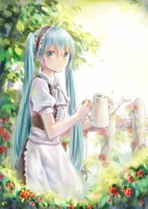 Rating: Safe Score: 50 Tags: hatsune_miku maid mimengfeixue vocaloid User: charunetra