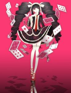 Rating: Safe Score: 20 Tags: celestia_ludenberg dangan-ronpa gothic_lolita lolita_fashion thighhighs yoshimiroku User: itsu-chan