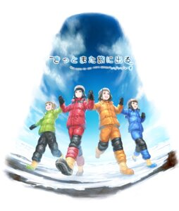 Rating: Safe Score: 12 Tags: kobuchizawa_shirase miyake_hinata murakami_hisashi shiraishi_yuzuki sora_yori_mo_tooi_basho tamaki_mari User: saemonnokami
