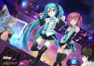 Rating: Safe Score: 22 Tags: 2drr closers cosplay hatsune_miku headphones seha_lee seifuku seulbi_lee tattoo thighhighs tina_(closers) vocaloid User: Mr_GT