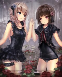 Rating: Safe Score: 54 Tags: apple228 garter gothic_lolita lolita_fashion swimsuits wet User: blooregardo