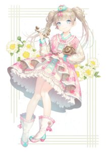 Rating: Safe Score: 47 Tags: dress heels lolita_fashion saban_(artist) User: Mr_GT