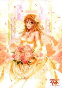 Rating: Safe Score: 32 Tags: cleavage dress mori_yuki uchuu_senkan_yamato uchuu_senkan_yamato_2199 wedding_dress User: Hercles