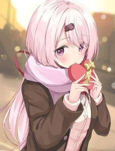 Rating: Questionable Score: 35 Tags: nijisanji nijisanji_gamers racchi. seifuku shiina_yuika sweater valentine User: Mr_GT