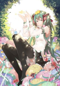 Rating: Safe Score: 26 Tags: hatsune_miku thighhighs vocaloid xiaonuo_(1906803064) User: charunetra