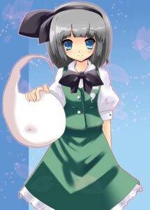 Rating: Safe Score: 11 Tags: konpaku_youmu snow_(gi66gotyo) touhou User: ddns001