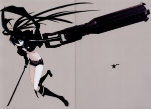 Rating: Safe Score: 12 Tags: black_rock_shooter black_rock_shooter_(character) crease huke vocaloid User: Radioactive