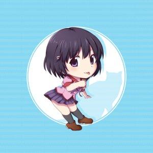 Rating: Safe Score: 16 Tags: bakemonogatari chibi hanekawa_tsubasa kuena nekomonogatari seifuku User: mioxnorman