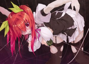 Rating: Questionable Score: 45 Tags: bondage erect_nipples no_bra rakudai_kishi_no_cavalry seifuku stella_vermillion stockings tagme thighhighs torn_clothes won_(az_hybrid) User: kiyoe