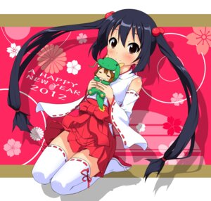 Rating: Safe Score: 50 Tags: k10k k-on! miko nakano_azusa thighhighs User: blooregardo