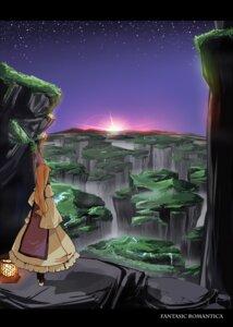Rating: Safe Score: 16 Tags: dress garnet_(artist) landscape touhou yakumo_yukari User: vanilla