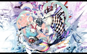 Rating: Safe Score: 28 Tags: gin_(oyoyo) miki_sayaka puella_magi_madoka_magica sword wallpaper User: Nekotsúh