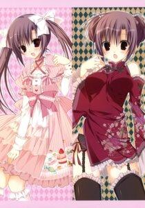 Rating: Safe Score: 29 Tags: chinadress garter_belt inugami_kira lolita_fashion stockings thighhighs User: crim