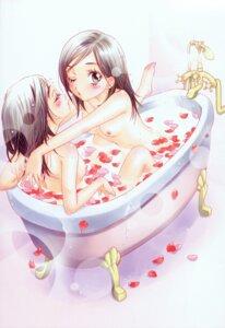 Rating: Questionable Score: 34 Tags: bathing morinaga_milk naked nipples yuri User: midzki