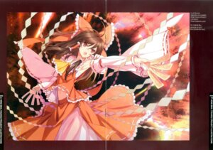Rating: Safe Score: 18 Tags: an2a binding_discoloration crease hakurei_reimu touhou wind_mail User: fireattack
