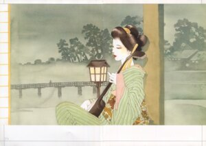 Rating: Safe Score: 3 Tags: crease kimono yamada_akihiro User: Radioactive