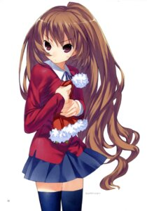 Rating: Safe Score: 20 Tags: aisaka_taiga seifuku thighhighs toradora! yasu User: blooregardo