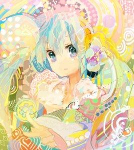 Rating: Safe Score: 24 Tags: hatsune_miku kazuka kimono vocaloid User: LolitaJoy