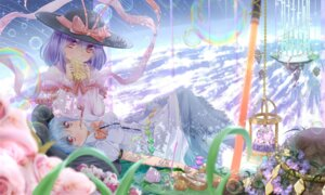 Rating: Safe Score: 34 Tags: hinanawi_tenshi nagae_iku smoking sword touhou xuanlin_jingshuang User: Mr_GT