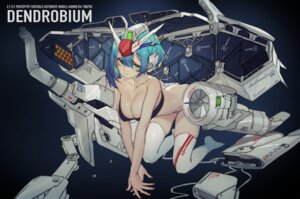 Rating: Questionable Score: 27 Tags: bottomless bra cleavage grandialee mecha_musume thighhighs User: Dreista
