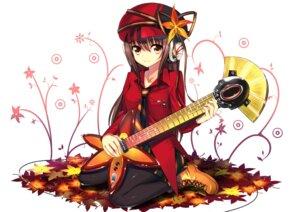 Rating: Safe Score: 32 Tags: guitar headphones koi pantyhose User: Nekotsúh