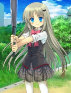 Rating: Safe Score: 18 Tags: baseball little_busters! moonknives noumi_kudryavka seifuku User: MugiMugi