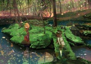 Rating: Safe Score: 19 Tags: landscape maribel_han shinta touhou usami_renko User: oppai