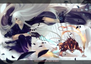 Rating: Safe Score: 7 Tags: joseph_lee monster pixiv_fantasia pixiv_fantasia_new_world weapon User: Noodoll